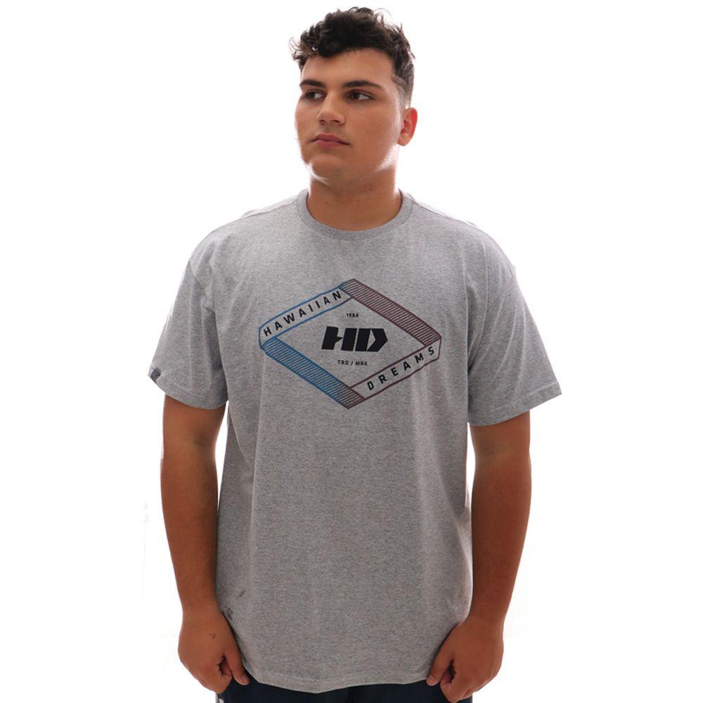 Camiseta HD Gradient Geo Mescla Plus Size