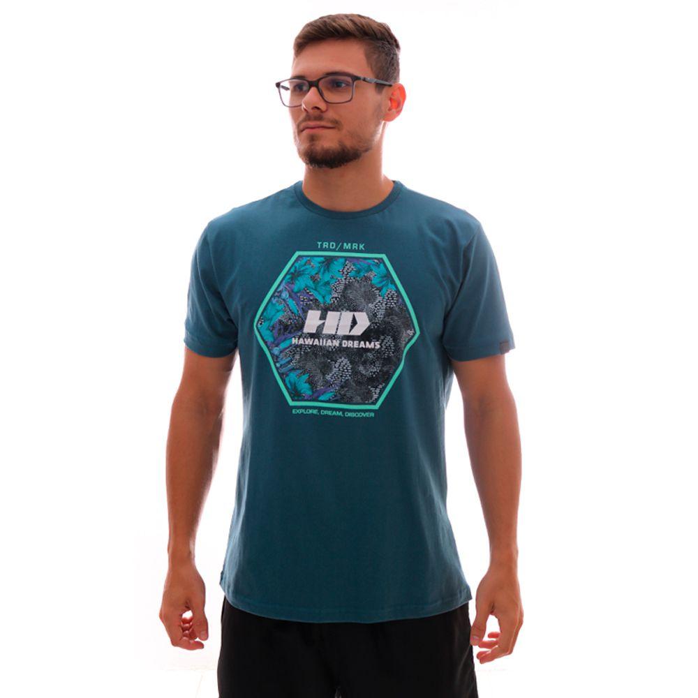 Camiseta HD Greenhouse Petróleo
