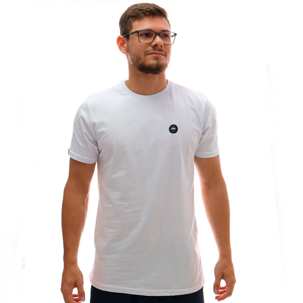 Camiseta HD Long Minimal Branco