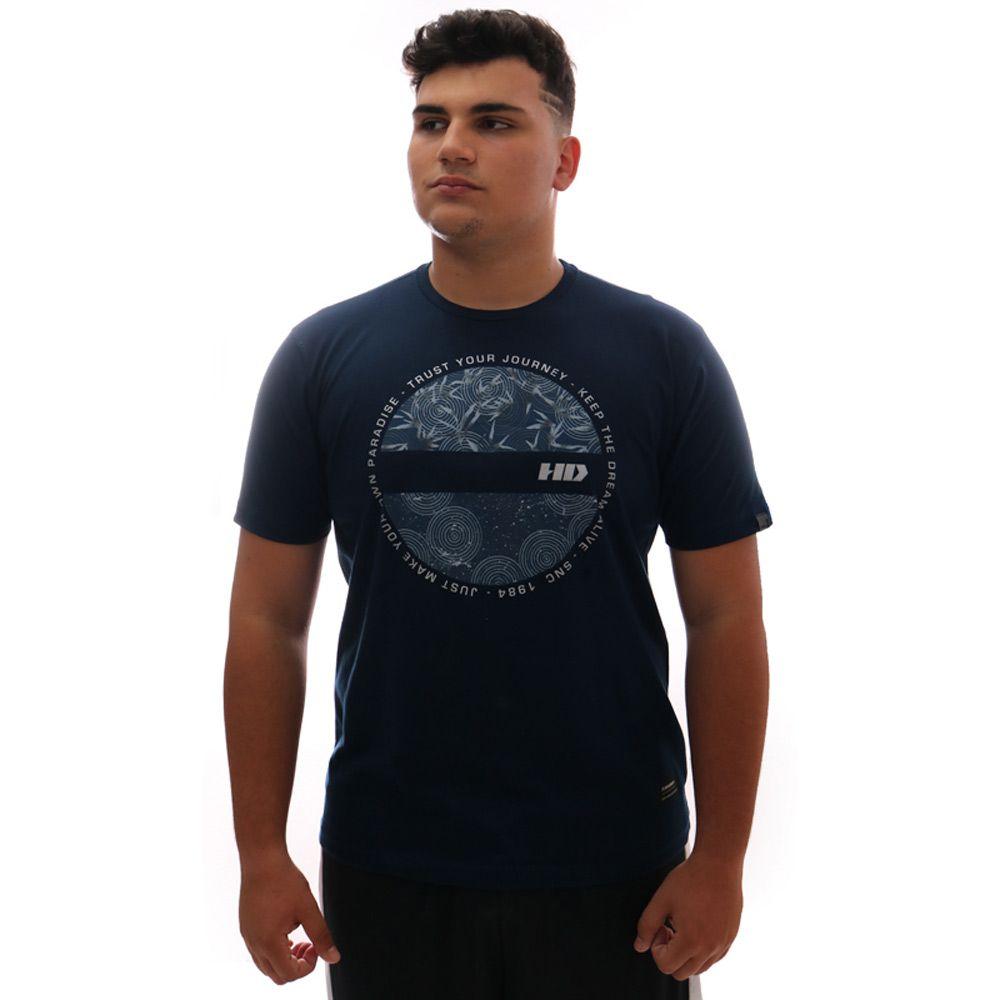 Camiseta HD New Satellite Marinho