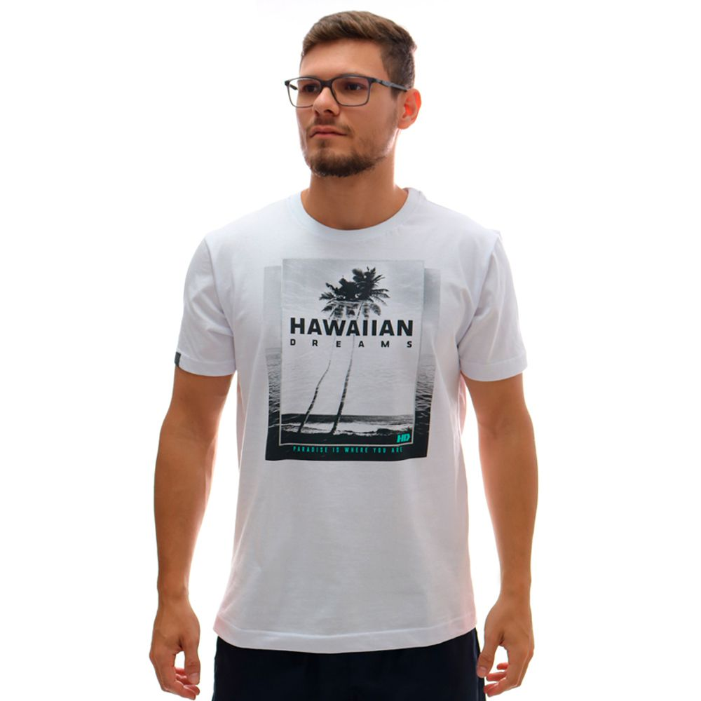 Camiseta HD Oceanside Branco