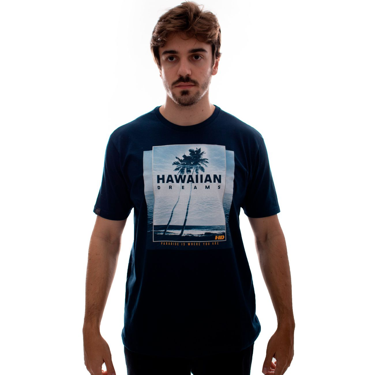 Camiseta HD Oceanside Marinho