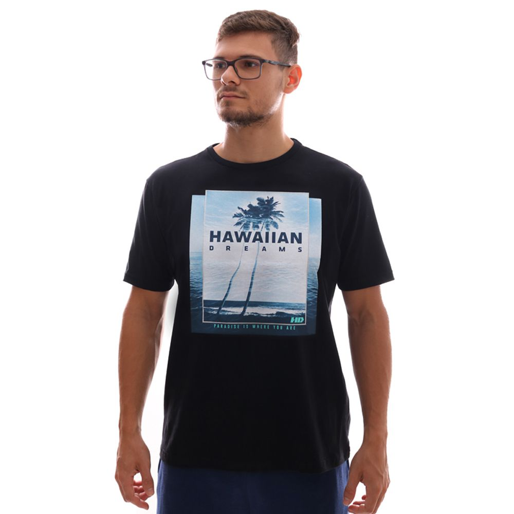 Camiseta HD Oceanside Preto