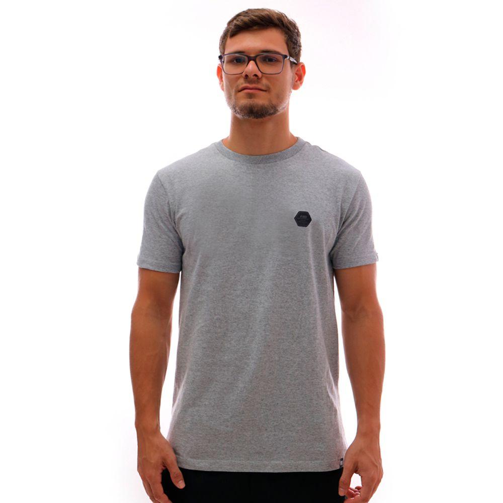 Camiseta HD Plus Size Basic Label Mescla