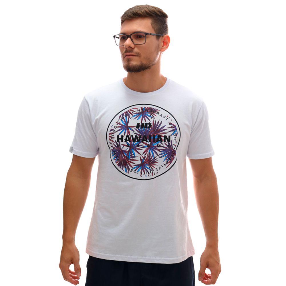 Camiseta HD Spike Flora Branco