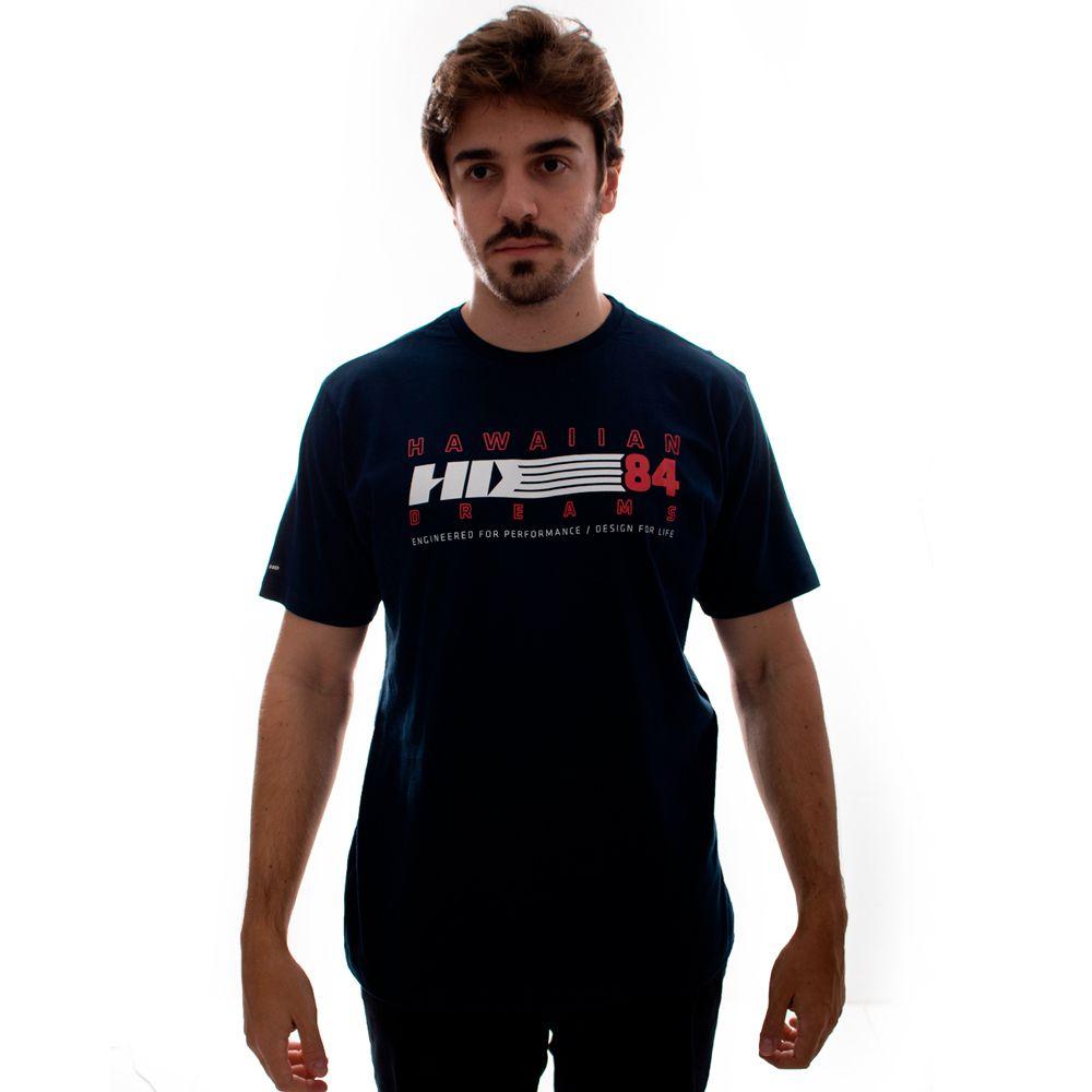 Camiseta HD TS Básica Retrô Marinho