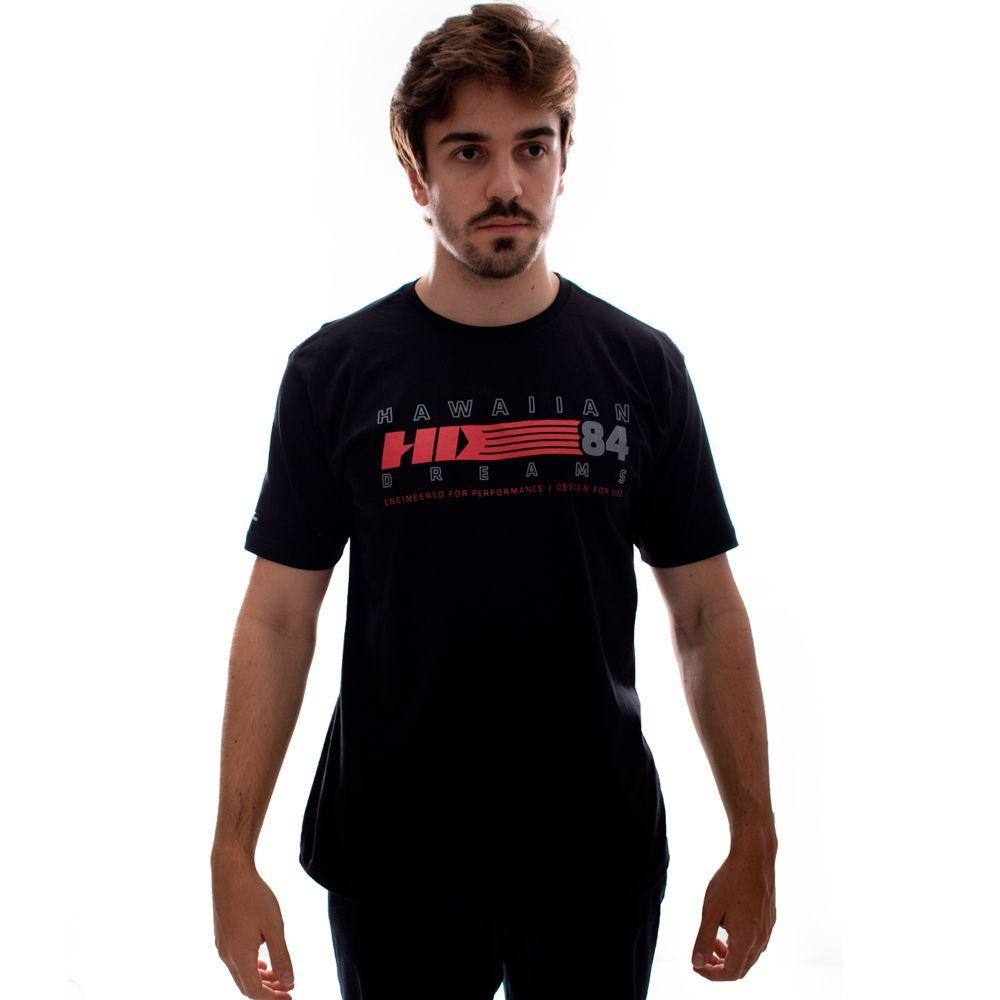 Camiseta HD TS Básica Retrô Preto