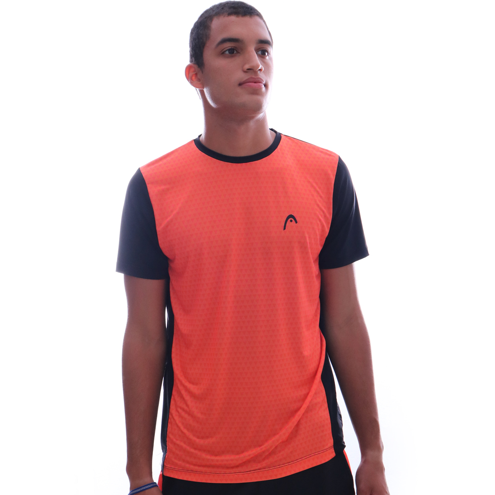 Camiseta Head Basic Laranja