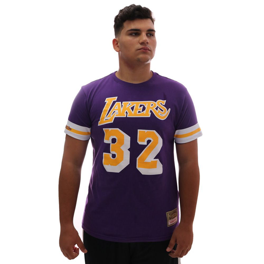 Camiseta Mitchell & Ness NBA Los Angeles Lakers Johnson