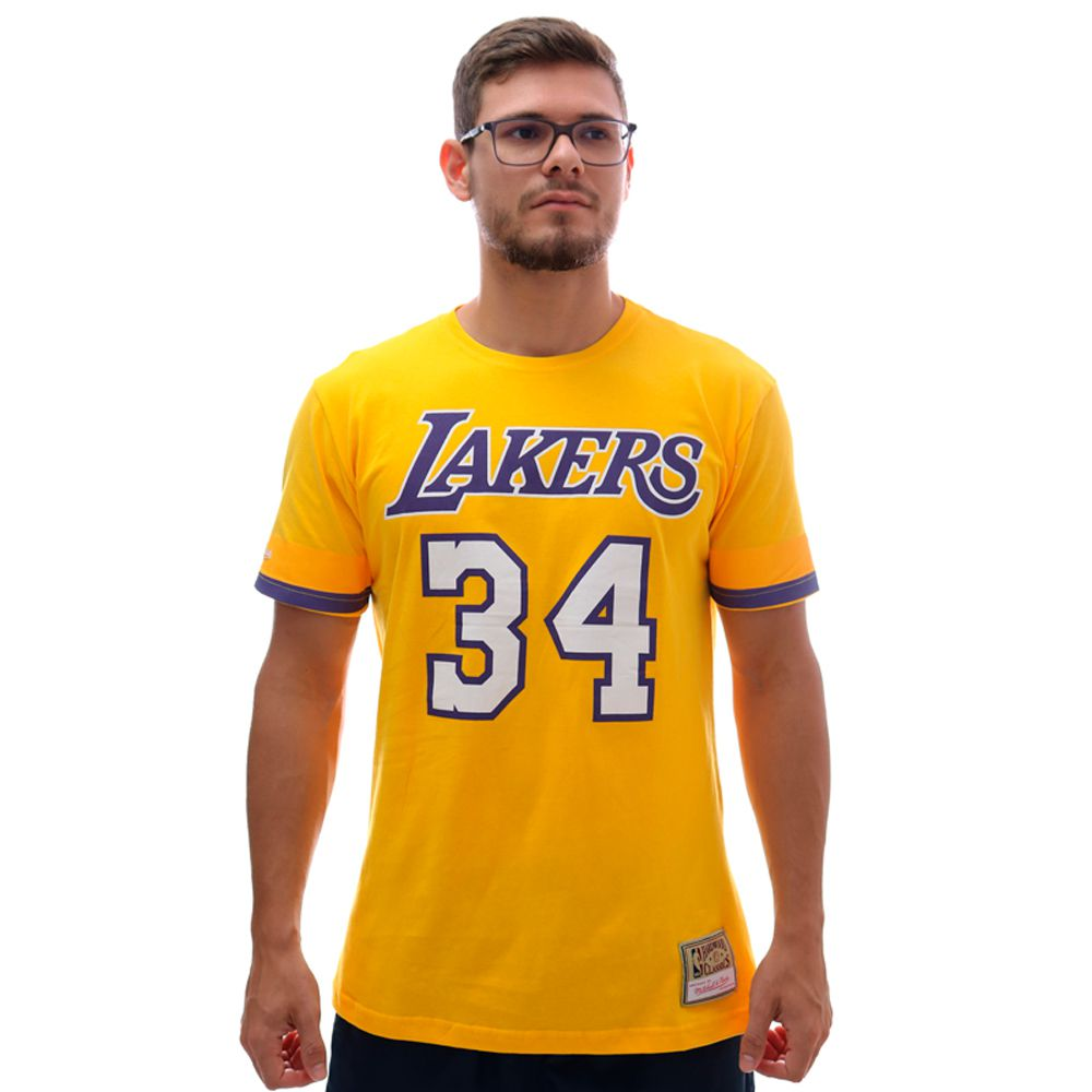 Camiseta Mitchell & Ness NBA Los Angeles Lakers O'Neal