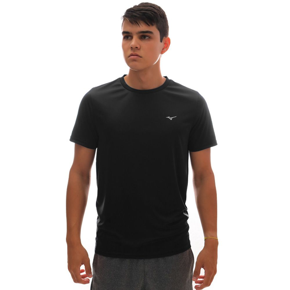 Camiseta Mizuno Run Spark 2 Preto