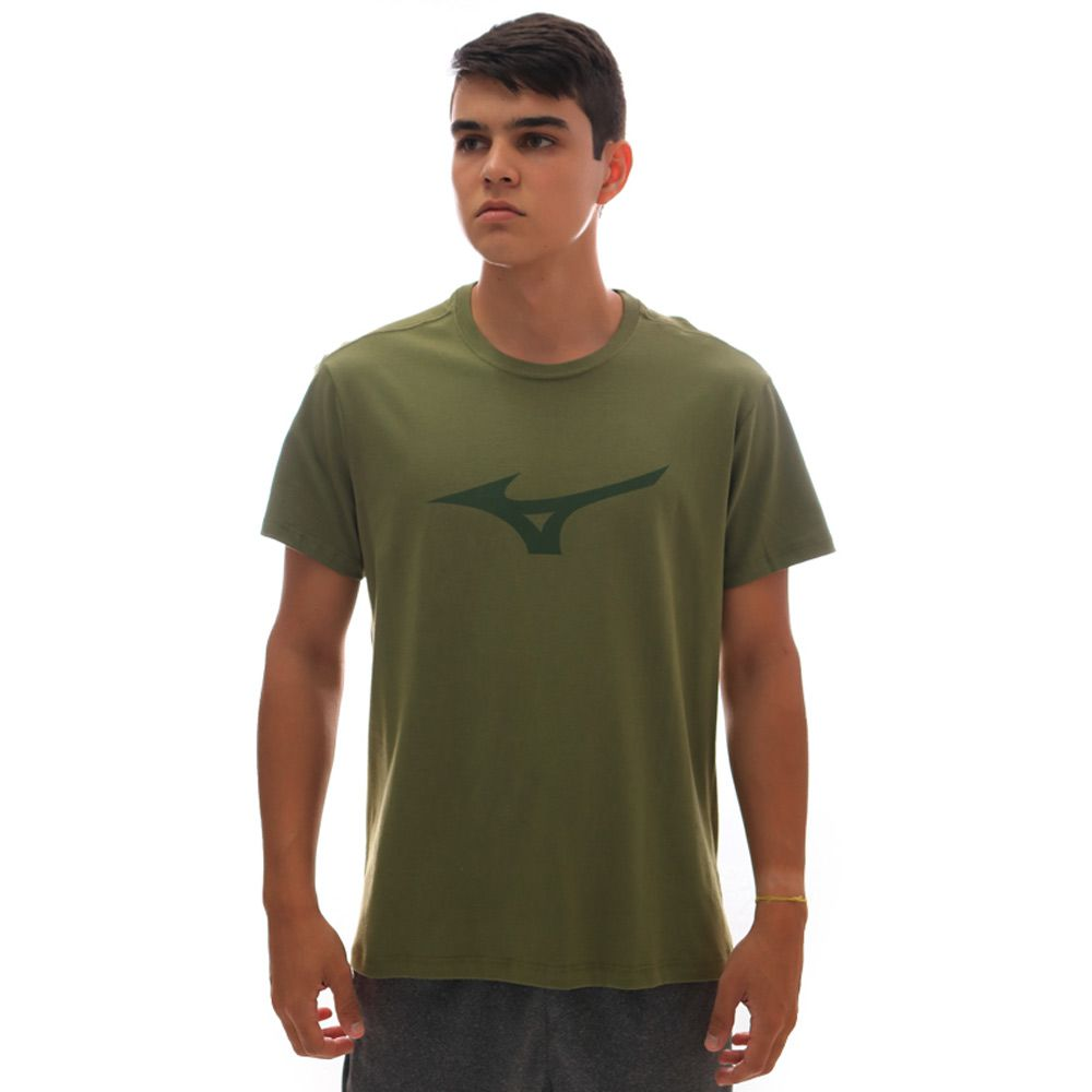 Camiseta Mizuno Soft Run Bird Verde