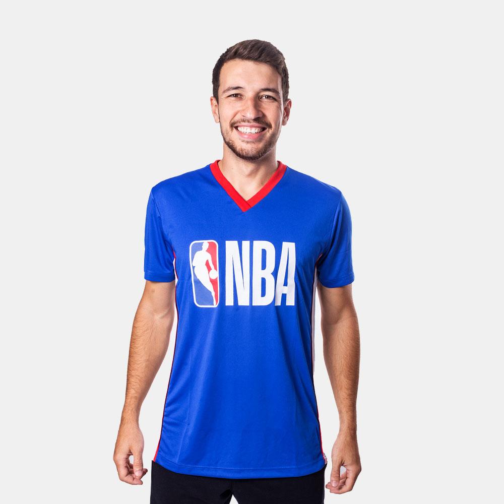 Camiseta NBA Logo Azul
