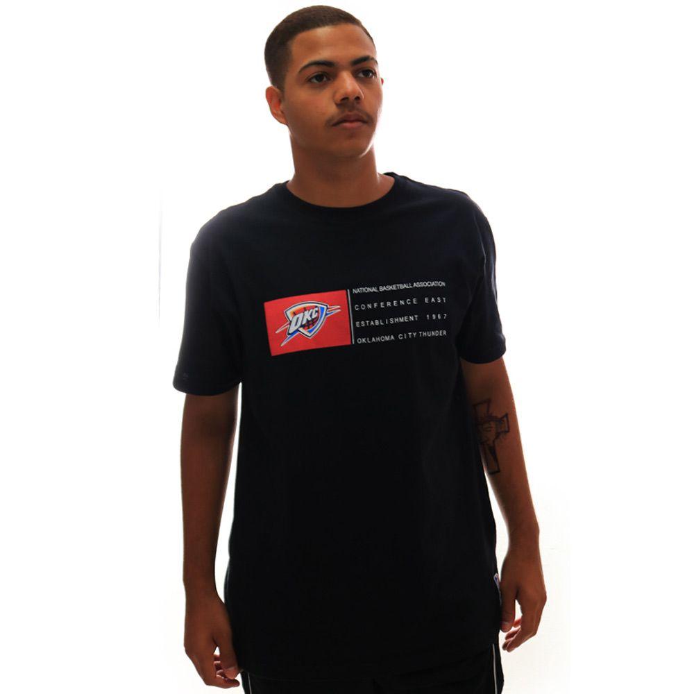 Camiseta NBA Oklahoma City Thunder Preto