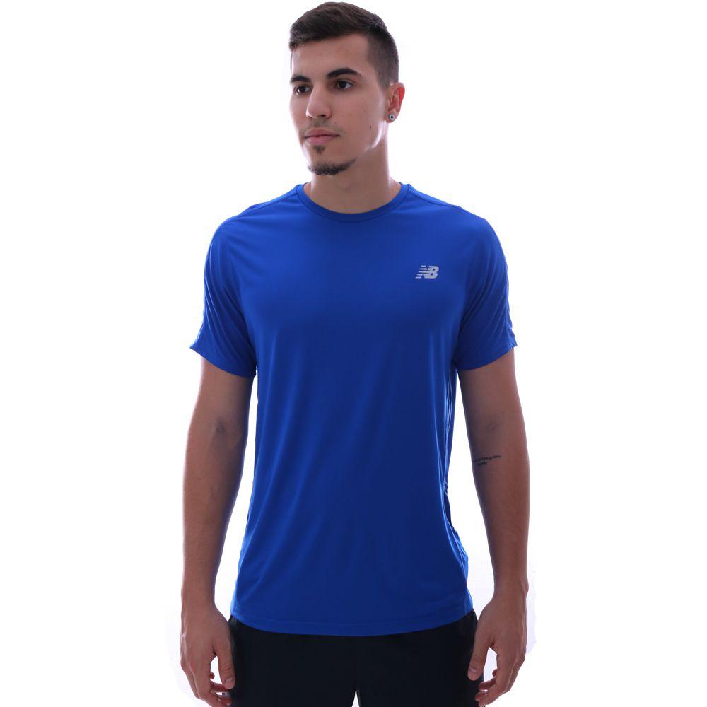 Camiseta New Balance Accelerate SS Azul