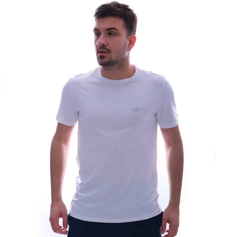 Camiseta New Balance Performance Logo Branca
