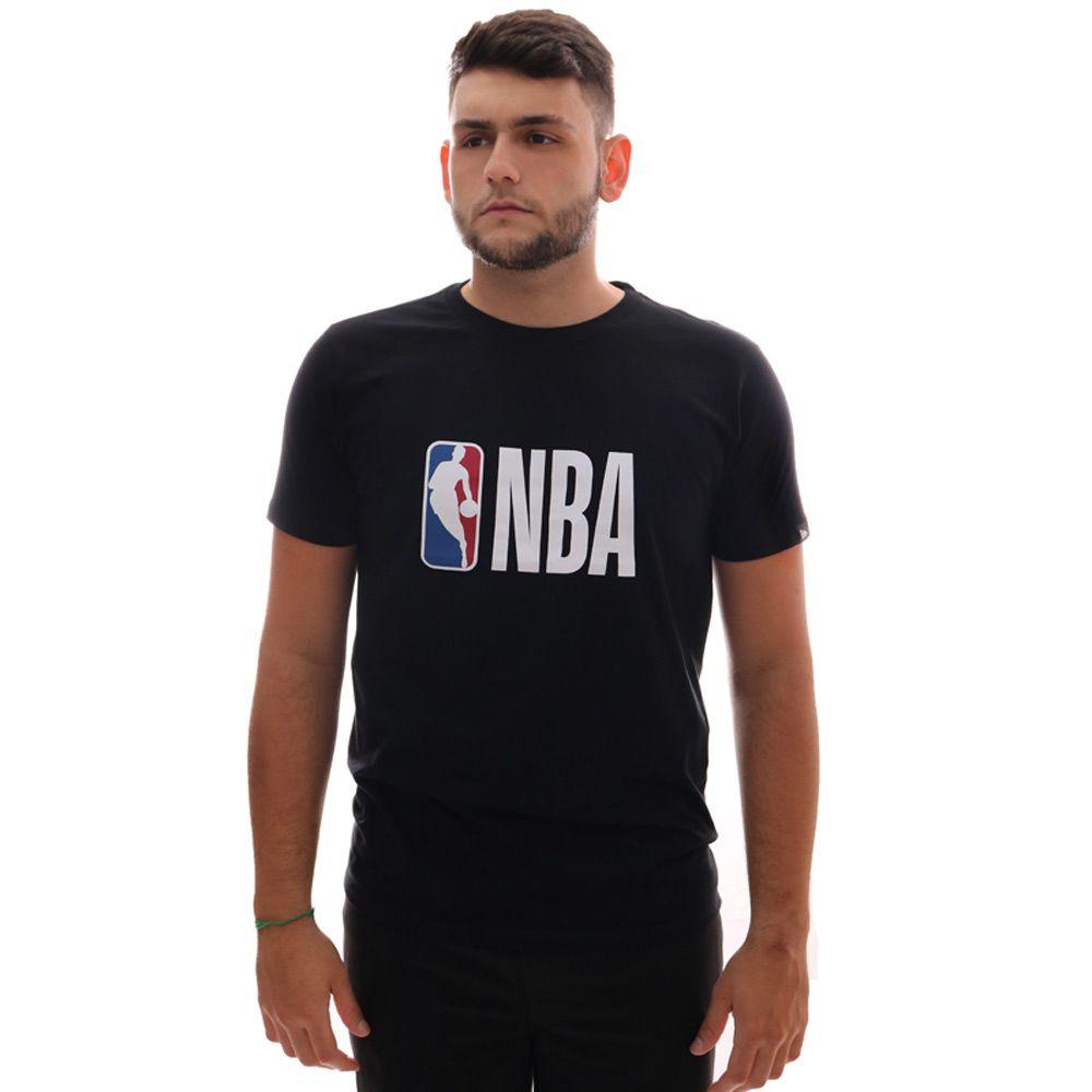 Camiseta New Era Logo NBA Preto