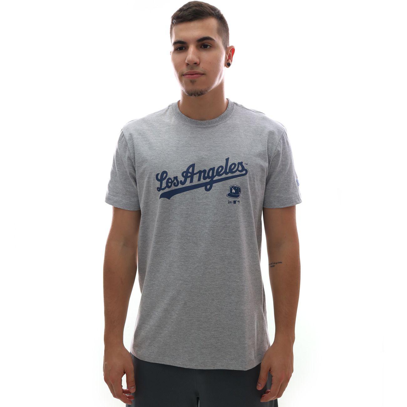 Camiseta New Era MLB Los Angeles Dodgers 90s Continues Basic