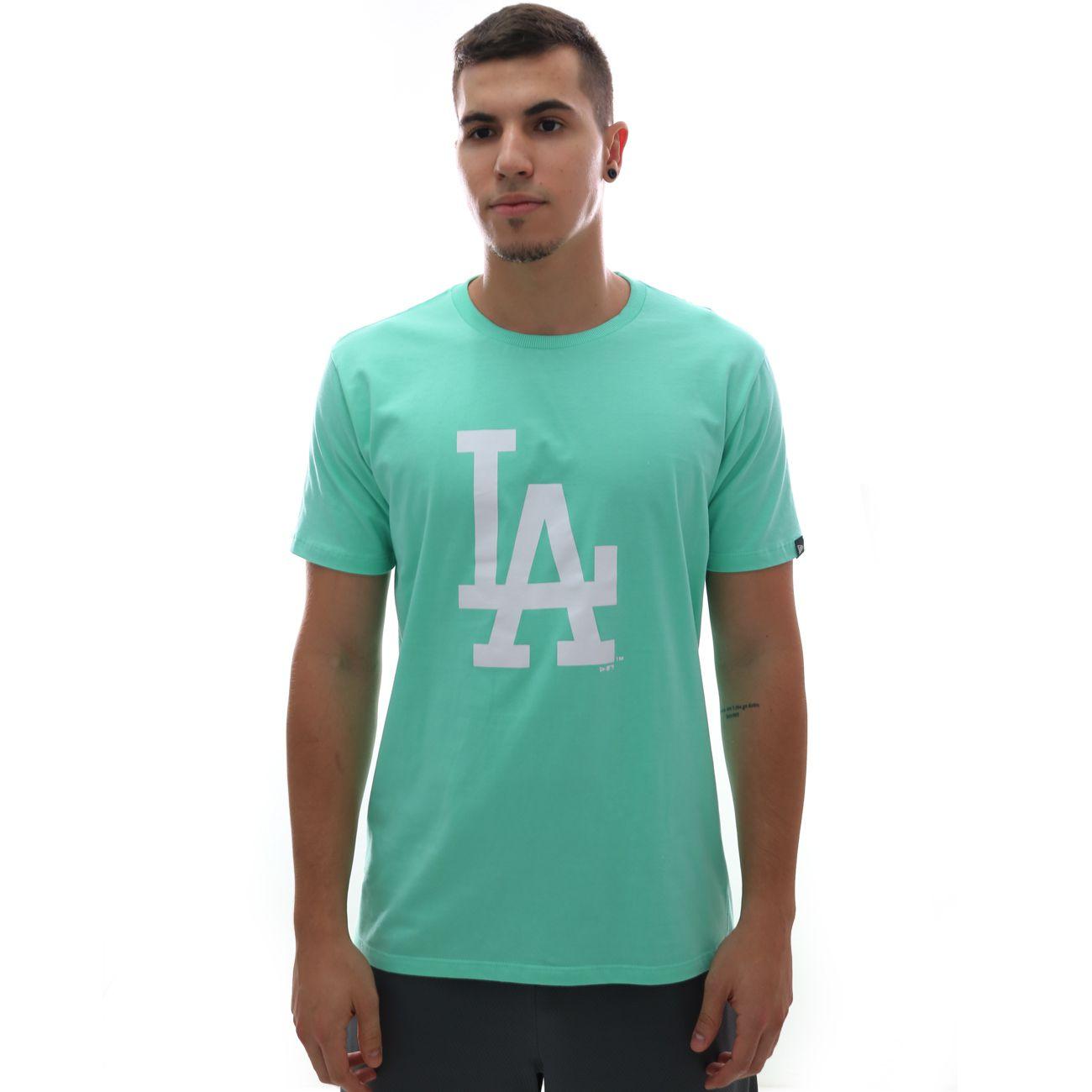 Camiseta New Era MLB Los Angeles Dodgers Logo