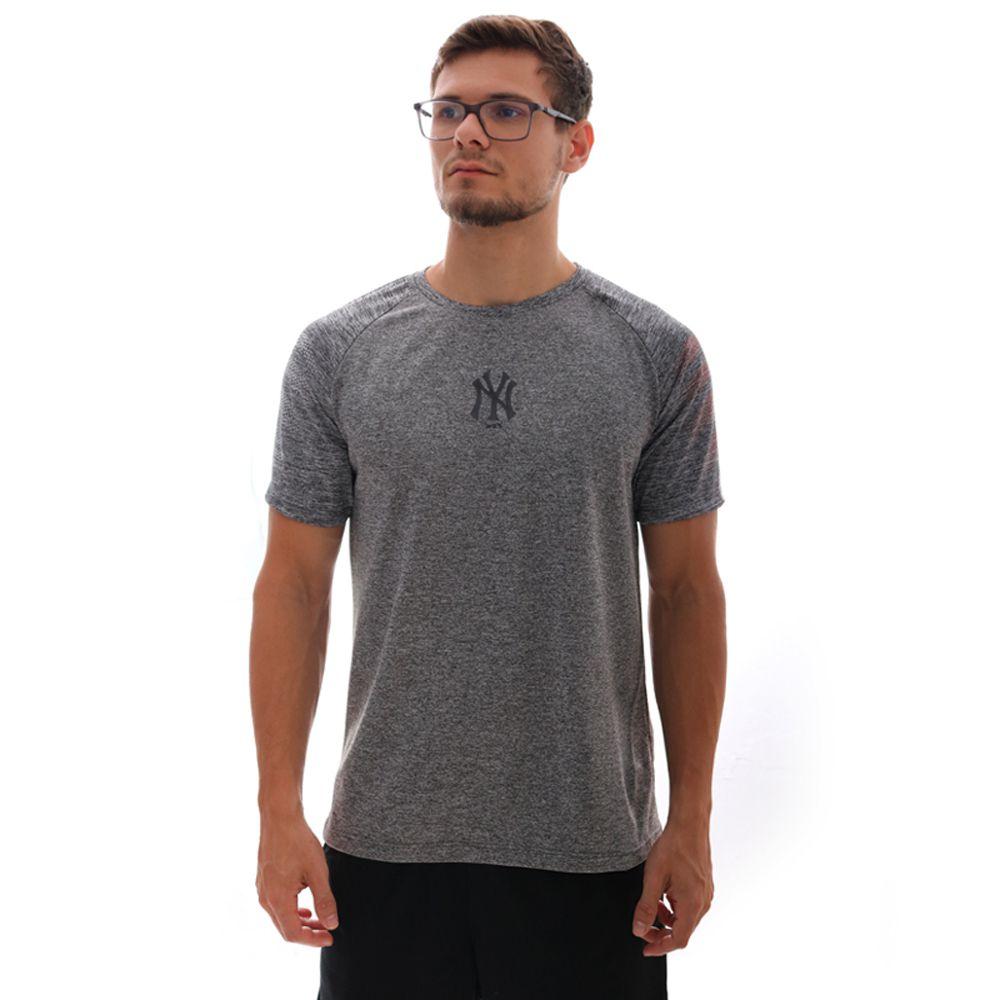 Camiseta New Era MLB New York Yankees Performance Cinza
