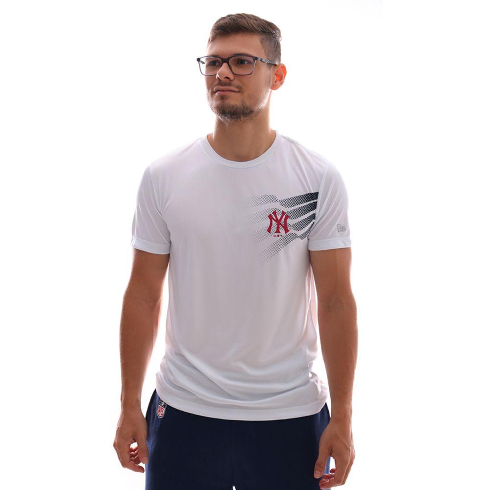 Camiseta New Era MLB New York Yankees Performance One Branca