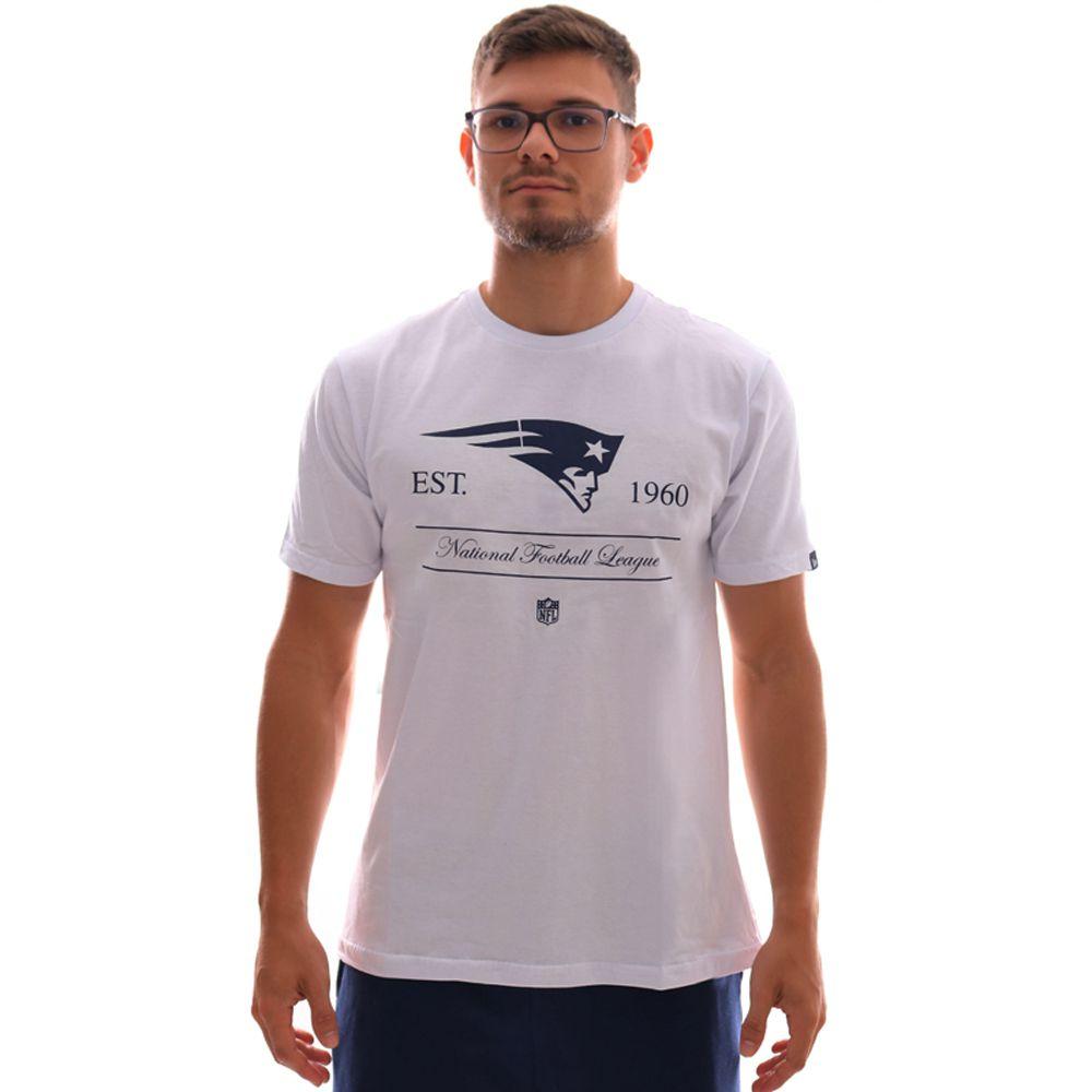 Camiseta New Era NFL New England Patriots Essentials Basic