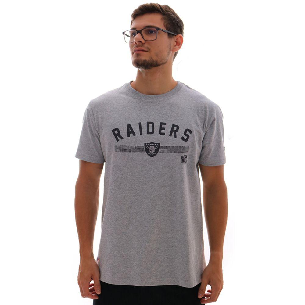 Camiseta New Era NFL Oakland Raiders Essentials Polka