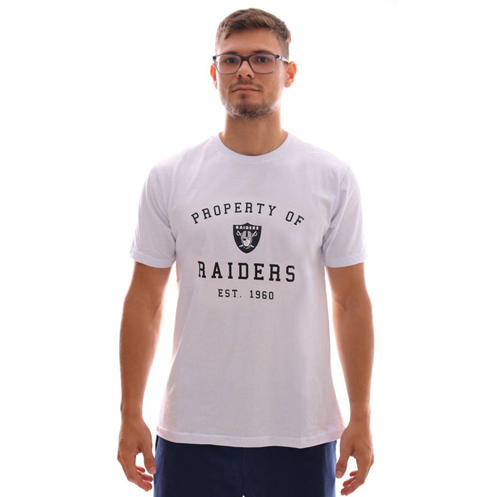 Camiseta New Era NFL Oakland Raiders Essentials Property