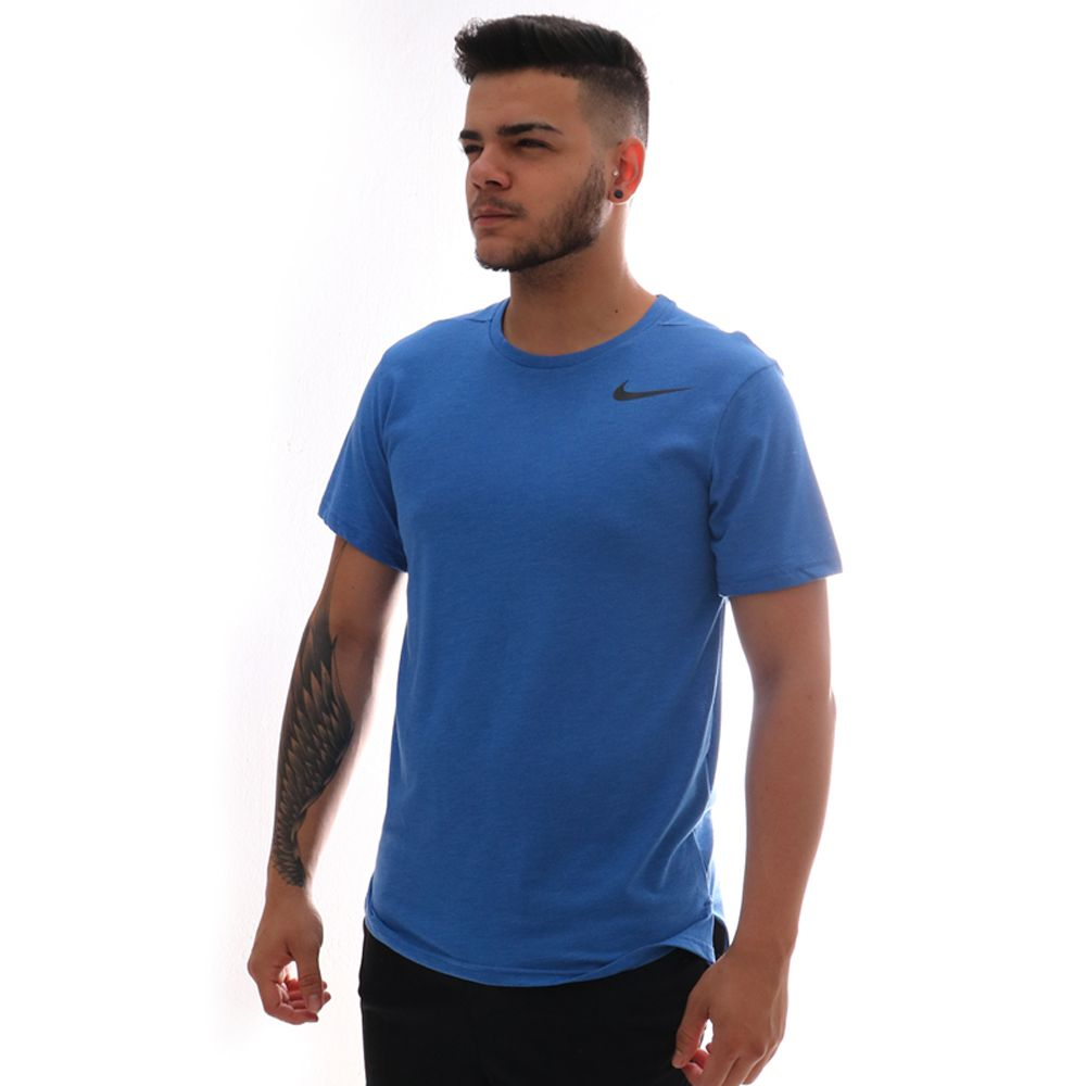 Camiseta Nike Breathe Top Hyper Dry Azul