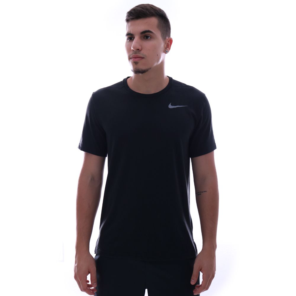 Camiseta Nike Breathe Top Hyper Dry Preto