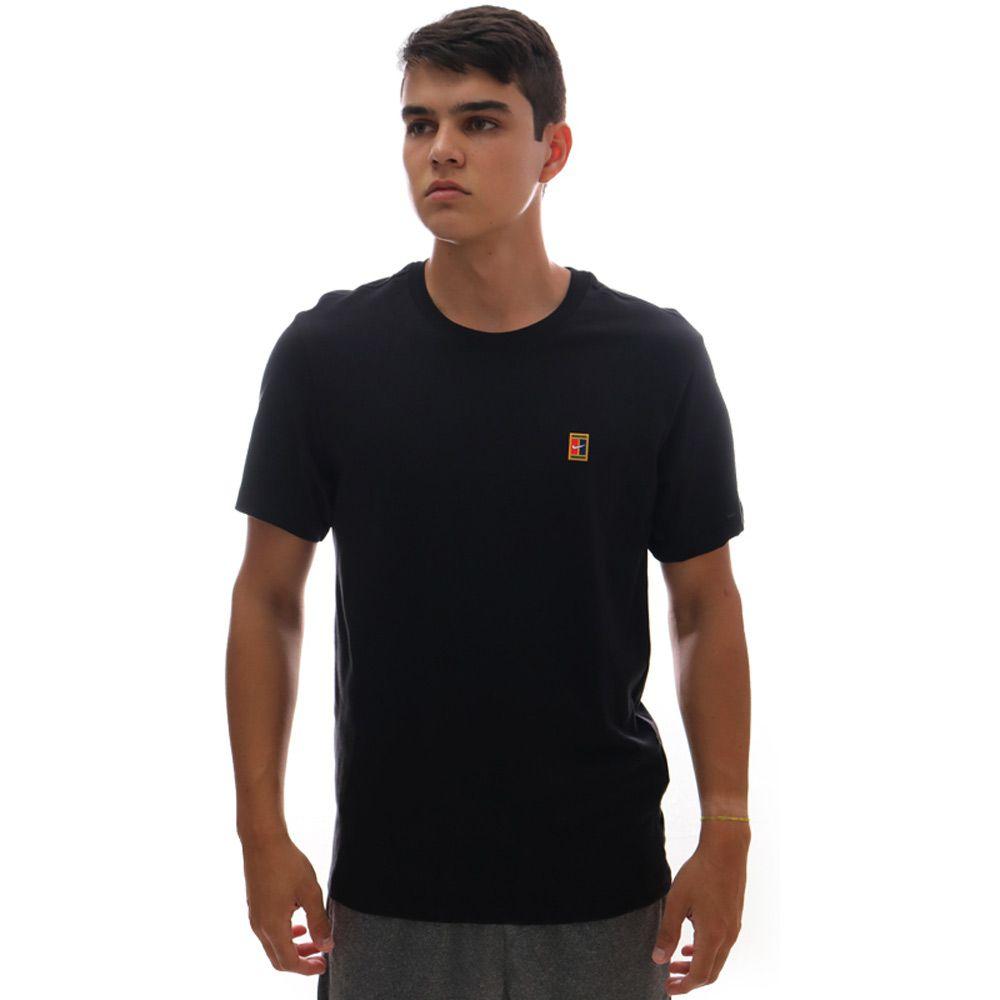 Camiseta Nike Court Heritage Tee Preto