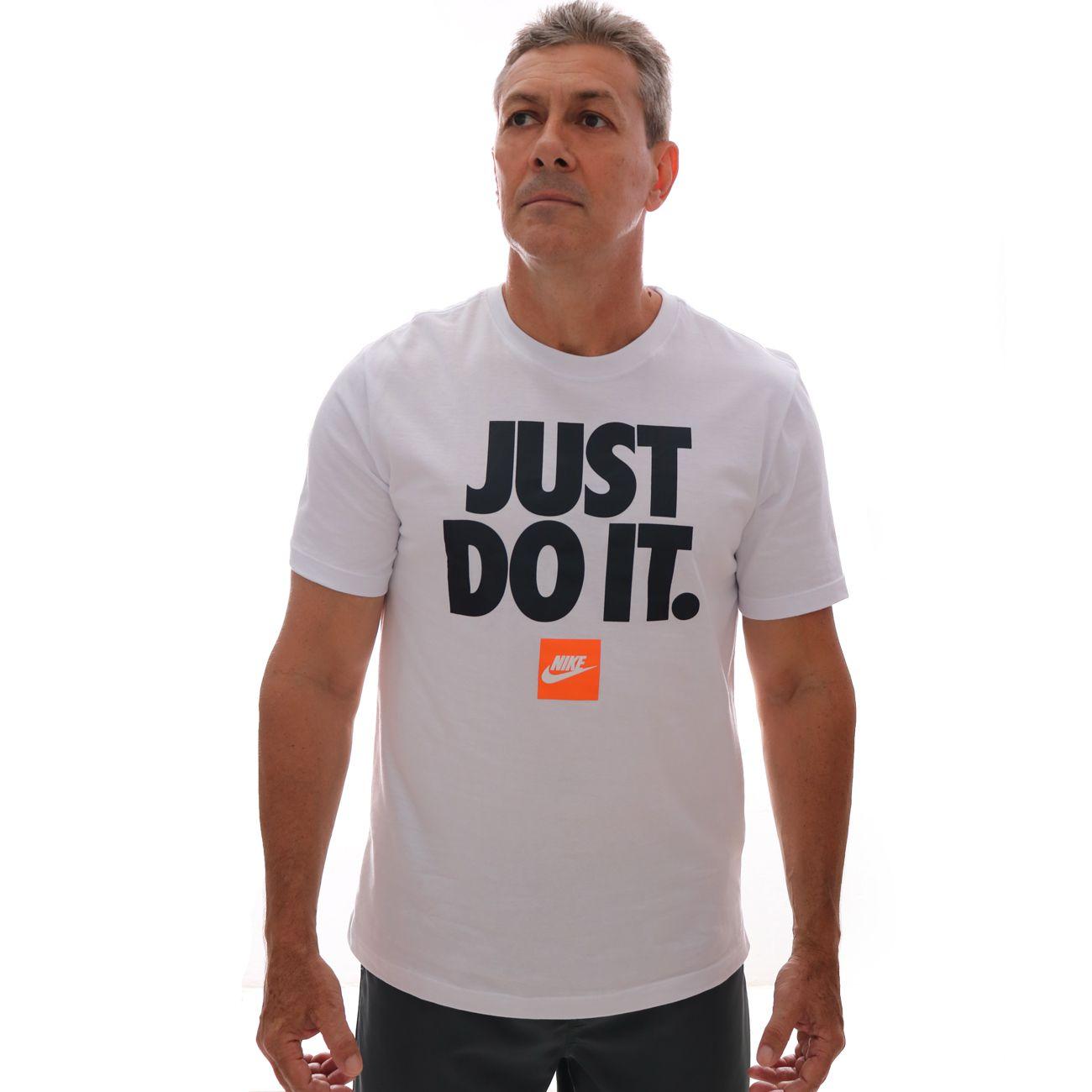 Camiseta Nike Just Do It Branco
