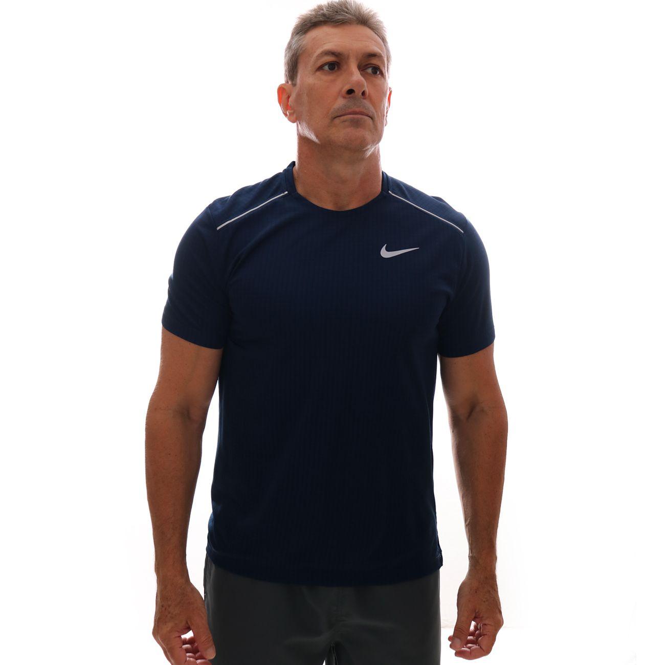 Camiseta Nike Miler Marinho