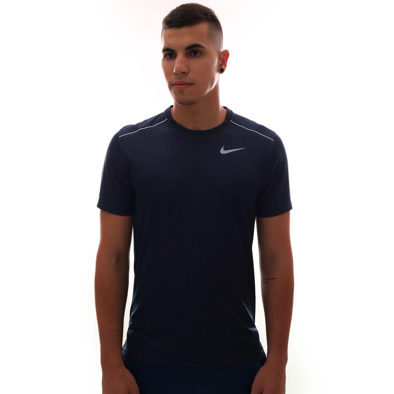 Camiseta Nike Miler Roxo
