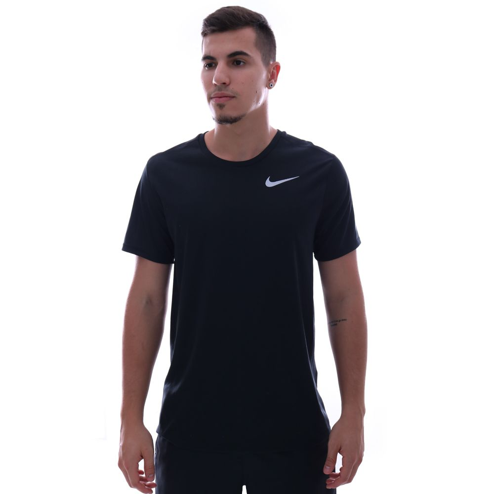 Camiseta Nike Run Top SS Preto