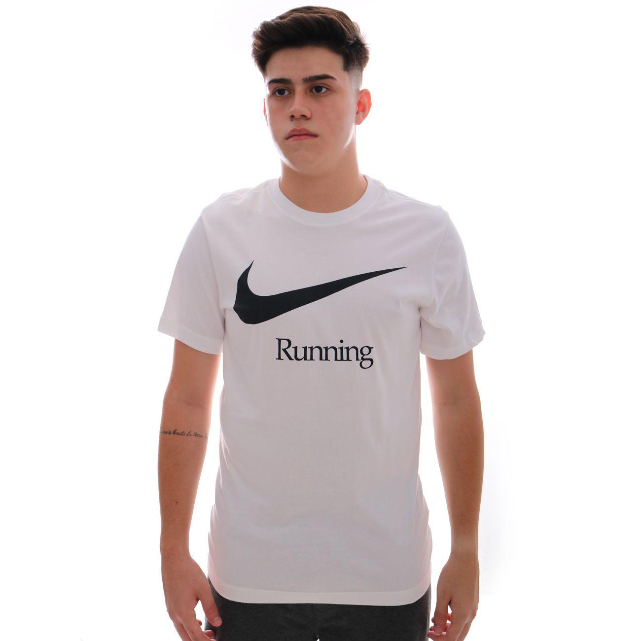Camiseta Nike Running Dri Fit Branco