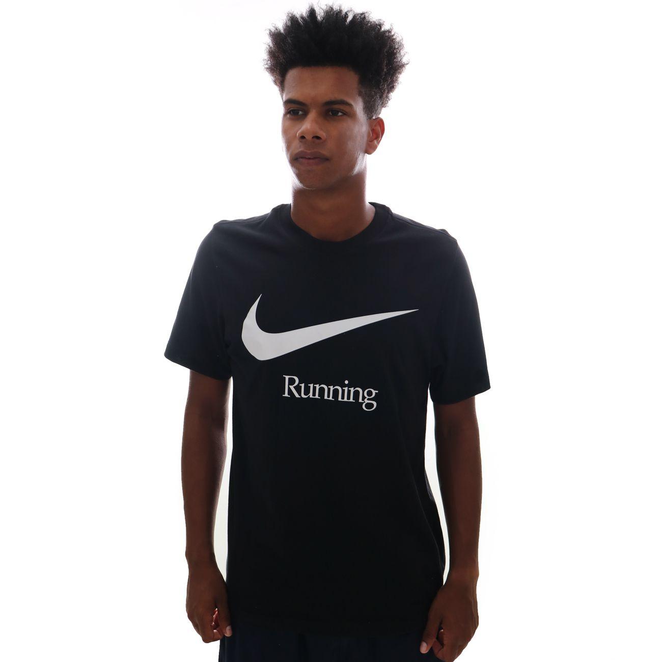 Camiseta Nike Running Dri Fit Preto