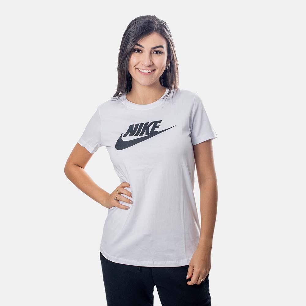 Camiseta Nike SB Essential Feminina Branca