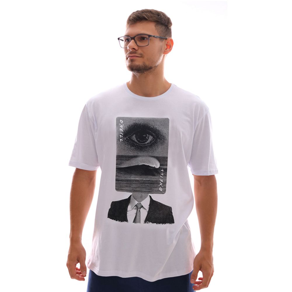 Camiseta O'Neill Wave Head Branco