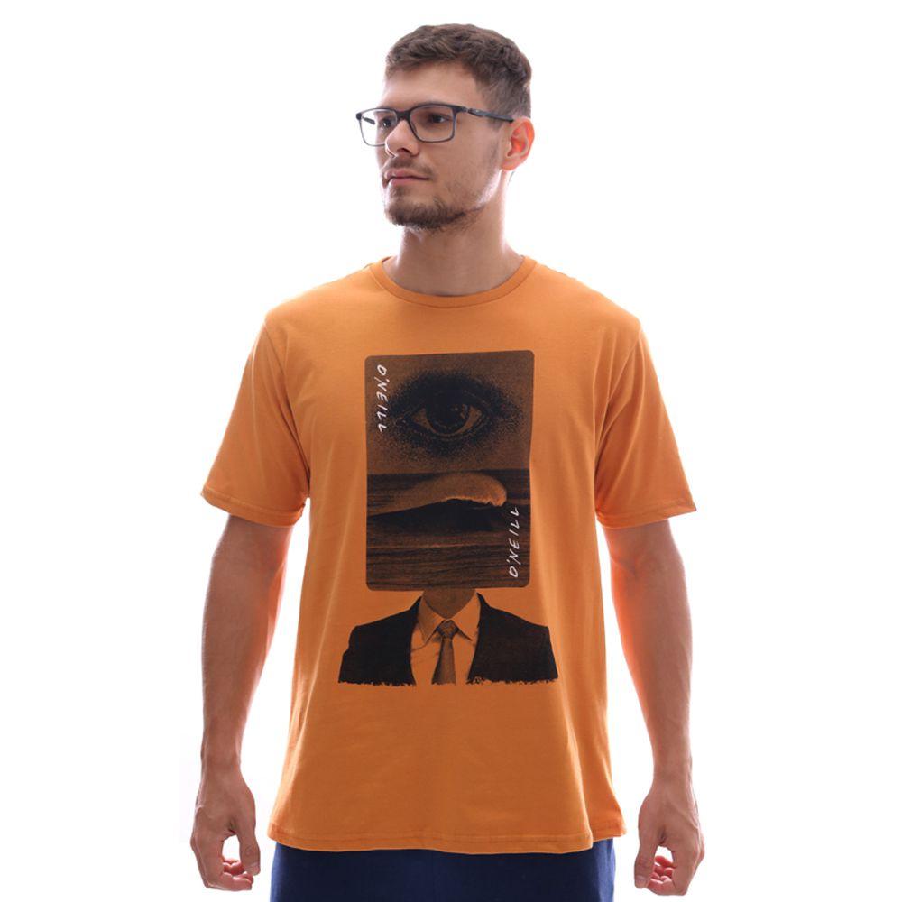 Camiseta O'Neill Wave Head Caramelo