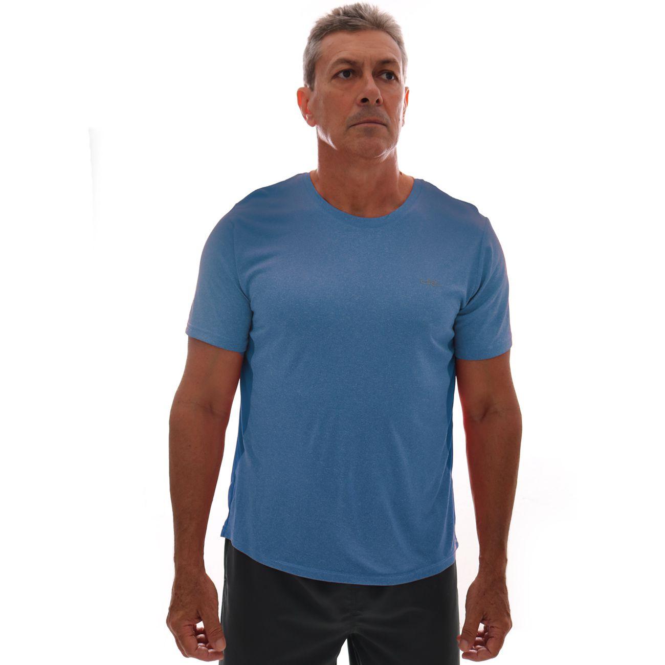 Camiseta Olympikus Fit Masculina Azul