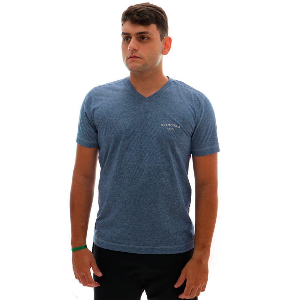 Camiseta Olympikus Gola V Masculino Azul
