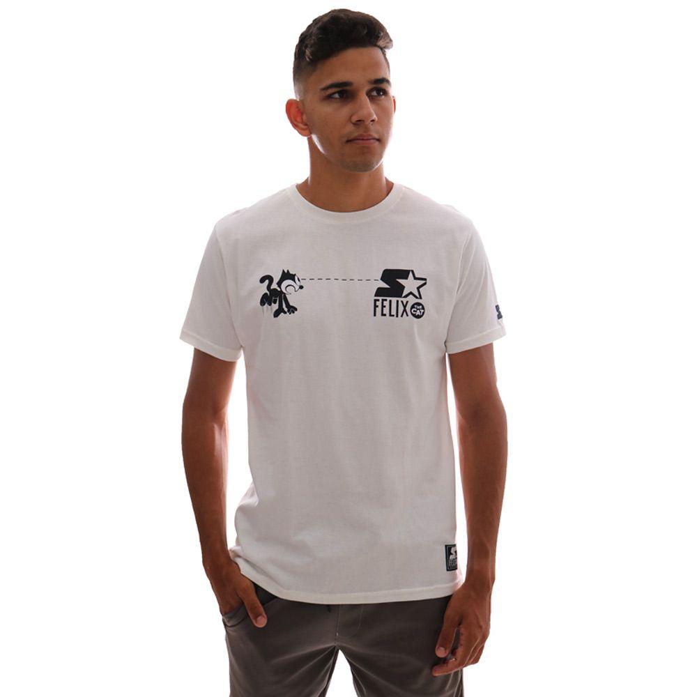 Camiseta Starter Felix Reaction Off White