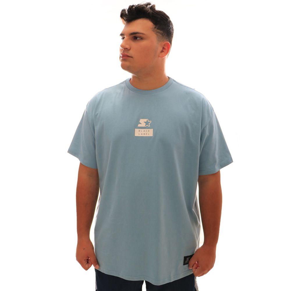 Camiseta Starter Sbl II Azul Plus Size