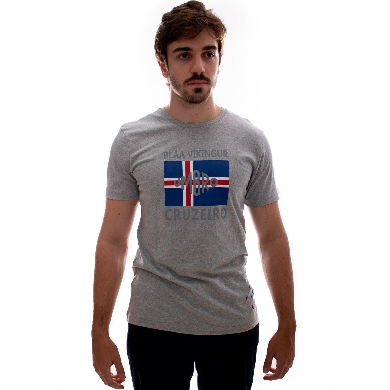 Camiseta Umbro Cruzeiro Blar Vikingur