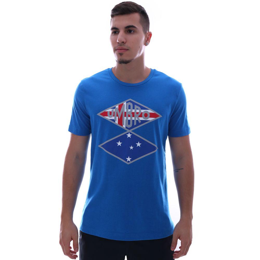 Camiseta Umbro Cruzeiro Flag