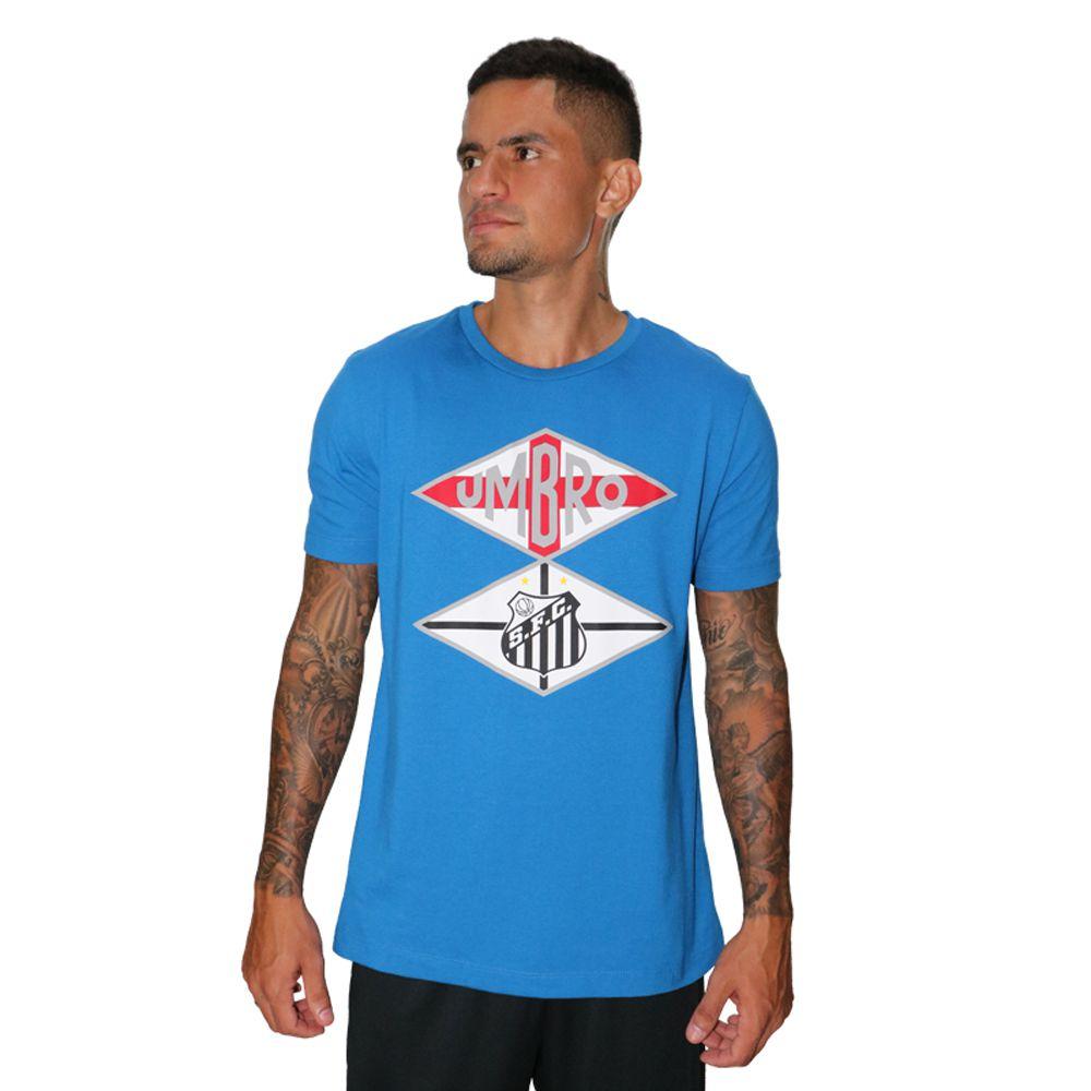 Camiseta Umbro Santos Flag