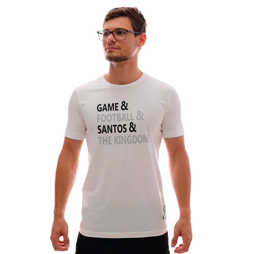 Camiseta Umbro Santos Lettering