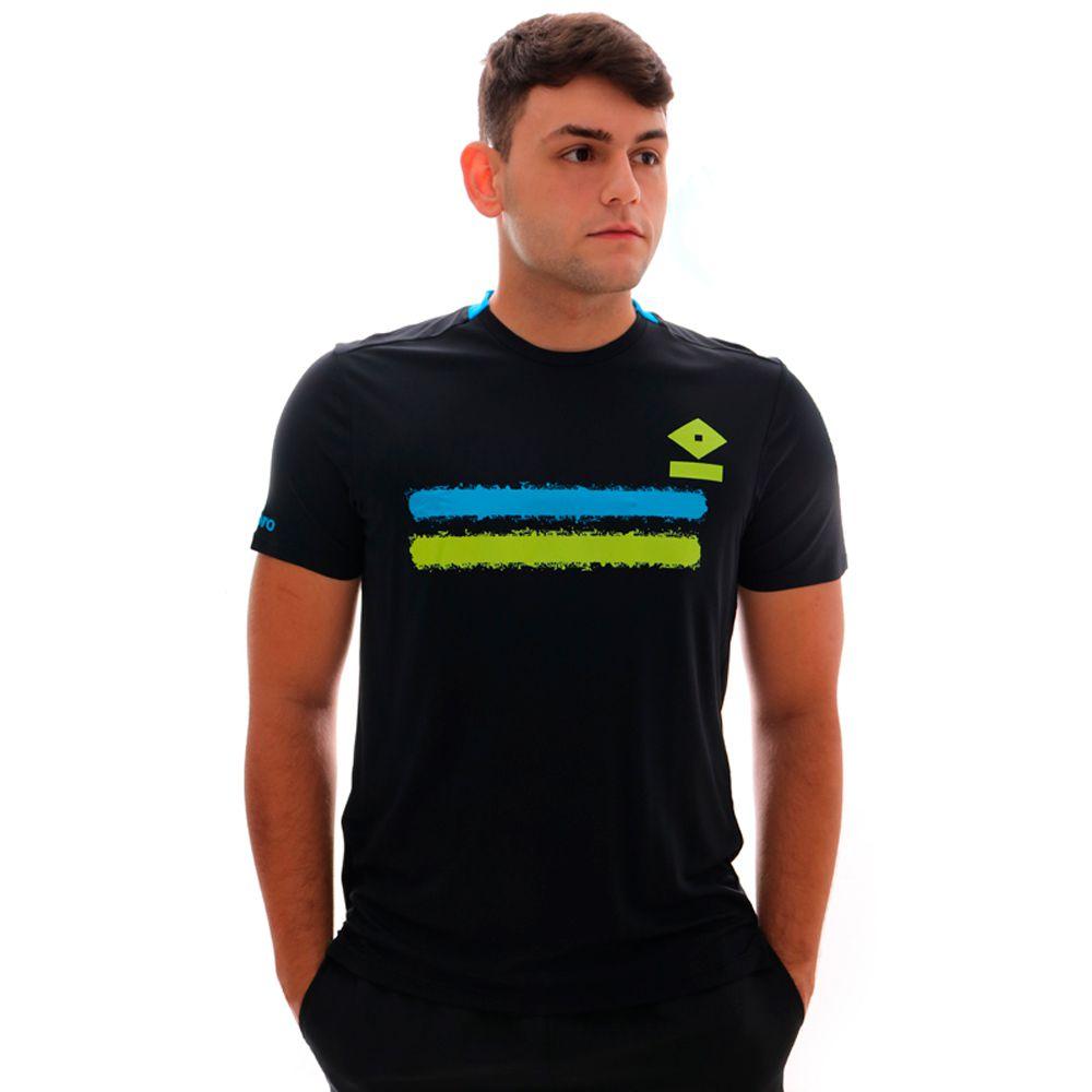 Camiseta Umbro TWR Duo Line Preto E Azul