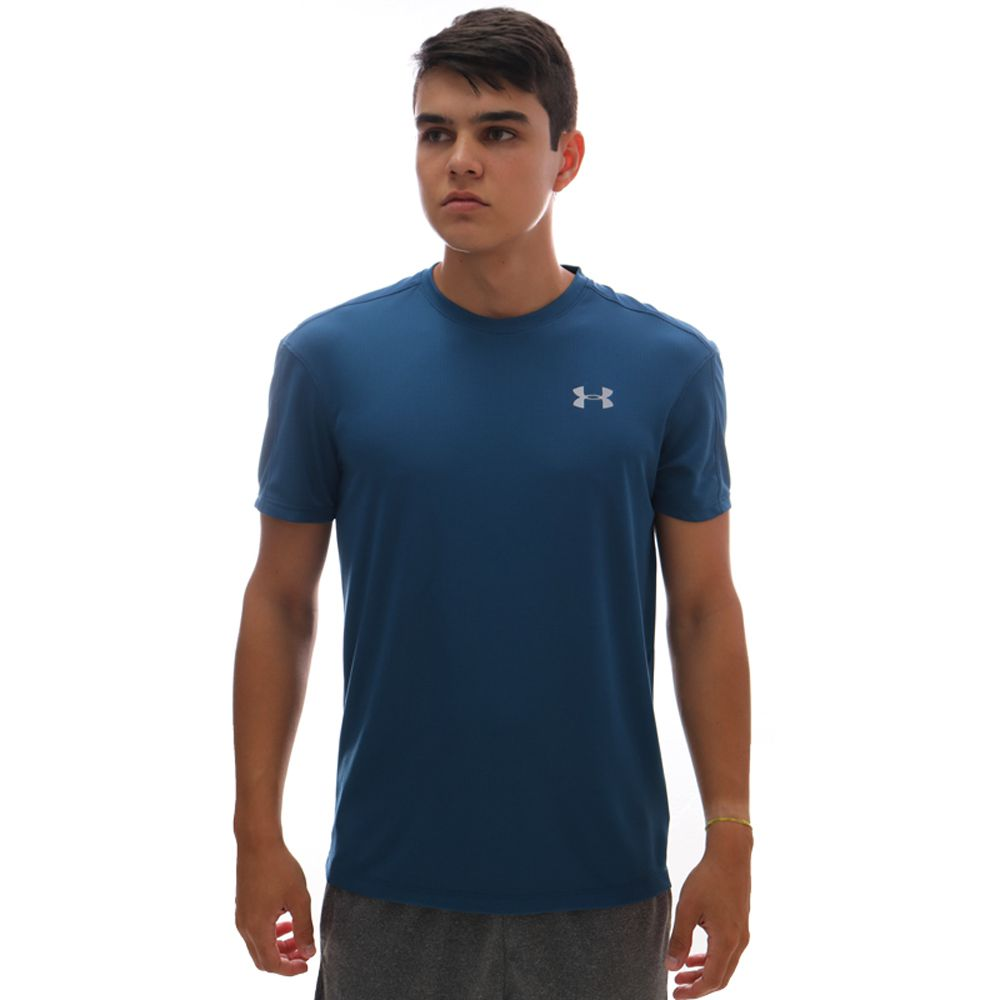 Camiseta Under Armour Speed Stride SS Petróleo